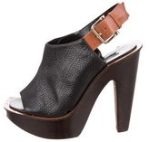 Derek Lam Platform Slingback Sandals