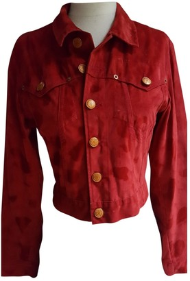Jean Paul Gaultier Red Velvet Jackets