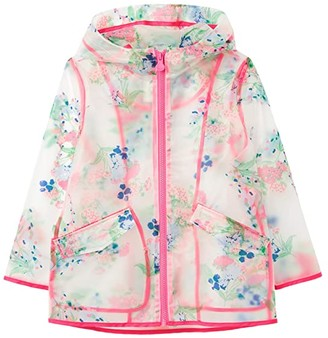 Joules Kids Raindance Clear (Toddler/Little Kids/Big Kids) (Clear Floral) Girl's Clothing