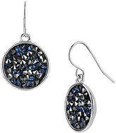 Kenneth Cole New York Faceted Disc Drop Earrings