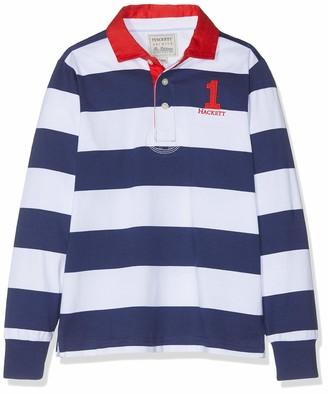 Hackett London Hackett Boy's Stripe Rug Polo Shirt