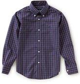 Brooks Brothers Little/Big Boys 4-20 Windowpane Button Front Shirt