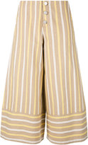See by Chloe cropped flared trousers - women - Cotton - 38