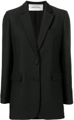 Valentino crepe couture blazer