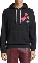 Bally Travel Patch Sweatshirt Hoodie