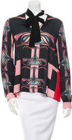 Clover Canyon Long Sleeve Printed Top w/ Tags
