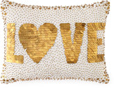 Jonathan Adler White Love Pillow