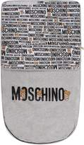 Moschino Grey Babykids Sleeping Bag With Logo