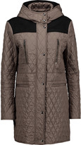 Belstaff Flynn felt-paneled quilted shell coat