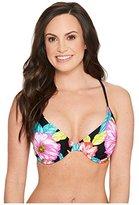 Body Glove Women's Sunlight Solo D, Dd, E, F Cup Underwire Bikini Top
