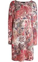 Ilse Jacobsen Nice Vintage Print Tunic Dress