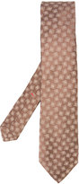 Isaia square print tie - men - Silk - One Size