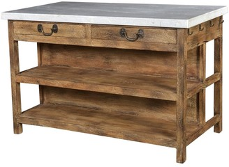 French Country Collections Lars Kitchen Island Bench Large