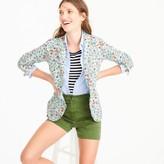 J.Crew Campbell blazer with ruffle trim in Liberty® Edenham floral