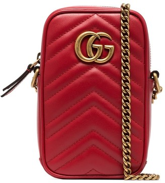 Gucci Marmont crossbody phone bag