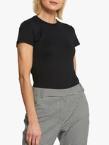 Helen McAlinden Round Neck Short Sleeve T-Shirt, Black