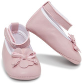 Armani Junior Girls Ballerina Shoes
