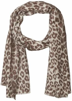 Collection Xiix Ltd. Collection XIIX Women's Leopard Super Soft Wrap Grey one size
