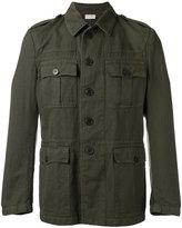 Dries Van Noten military jacket - men - Cotton/Linen/Flax - 48