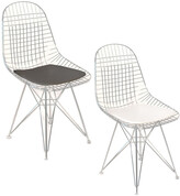 Pangea Set Of 2 Radar Dining Chairs