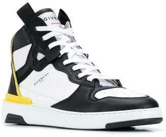 Givenchy Black And White High-top Wing Sneaker