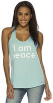 Peace Love World I am Peace® Cyan Boyfriend Tank