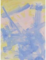 Carnaby Home Art Washed Cobalt w/Pinks - Robbie Kemper Art