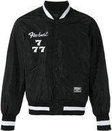 Kokon To Zai 'Society' embroidered bomber jacket