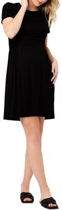 Ripe Rib Crop Top Nursing Dress
