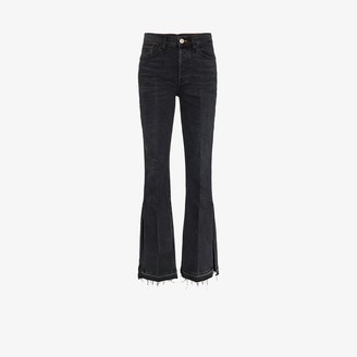 3x1 X Mimi Cuttrell Kellie flare high-rise jeans