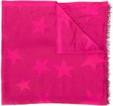 Stella McCartney star print scarf - women - Silk/Modal - One Size