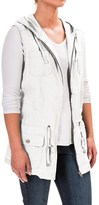 Kenar Hooded Anorak Vest (For Women)