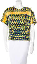 Derek Lam Silk Printed Top