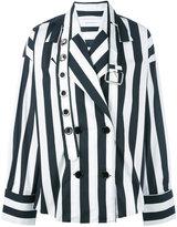 Marques Almeida Marques'almeida - double breasted shirt jacket - women - Cotton - S