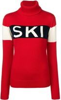 Thumbnail for your product : Perfect Moment Ski intarsia-knit jumper