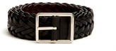 Paul Smith Woven leather belt