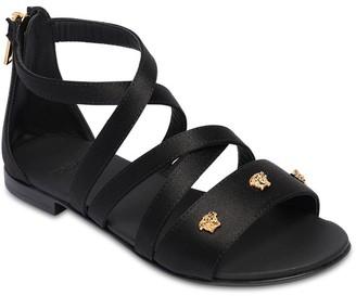 Versace Sandals W/ Decorative Medusa