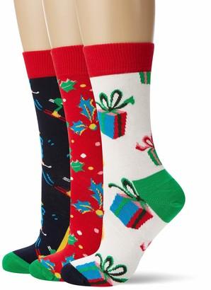 Happy Socks Women's Playing Holiday Gift Box Socks