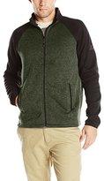 ZeroXposur Men's Stomp Sweater Fleece Full-Zip Jacket