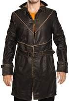 Gen1leathers Watch Dogs Game Aiden Pearce Trench Coat/Jacket (XL, )