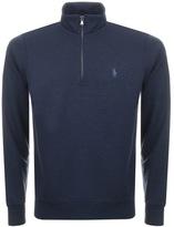 Ralph Lauren Half Zip Sweatshirt Navy