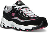 Skechers Women's D'Lites - Life Saver Wide Width Running Sneakers from Finish Line