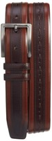 Mezlan Men's Ascot Leather Belt