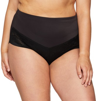 Maidenform Women's Plus Size Curvy Firm Foundations at-Waist Shaping Brief