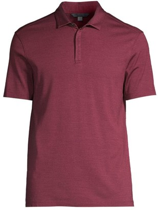 John Varvatos Montauk Silk & Cotton Polo