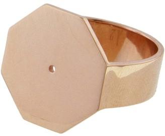 Hexagon Ring - Rose Gold