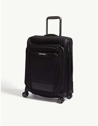 Samsonite Black Pro Dlx 5 Top Pocket Spinner Suitcase, Size: 56cm