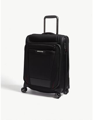 Samsonite Black Pro Dlx 5 Top Pocket Spinner Suitcase