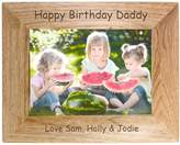 Very Personalised 6x4 inch Wooden Frame
