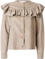 See by Chloe ruffled yoke jacket